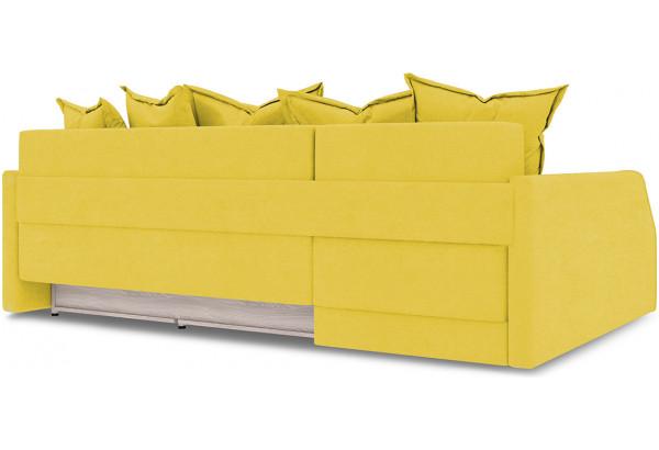 Диван угловой левый «Люксор Slim Т2» Maserati 11 (велюр) желтый - фото 4