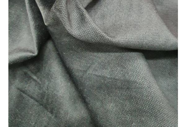 П-образный диван Валенсия Черный (Микровельвет) - фото 8
