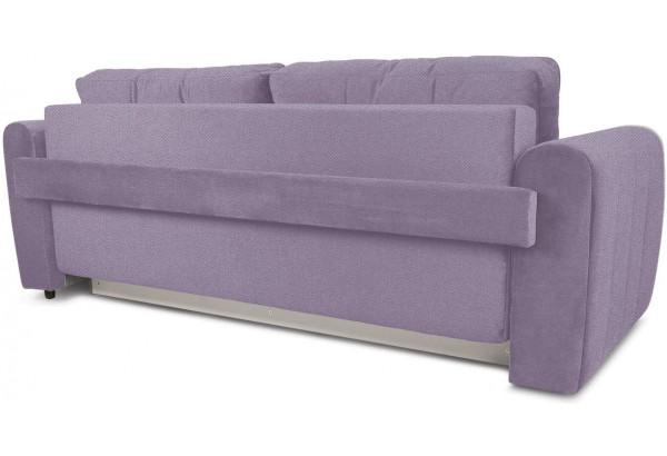 Диван «Хьюго» (Neo 09 (рогожка) фиолетовый кант Neo 02 (рогожка) бежевый) - фото 4