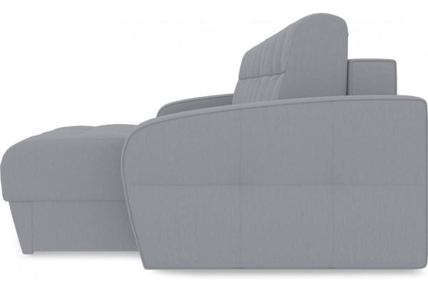 Диван угловой правый «Аспен Slim Т1» (Poseidon Grey (иск.замша) серый) - фото 4