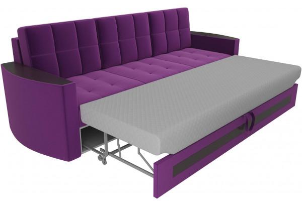 Диван прямой Белла Фиолетовый (Микровельвет) - фото 5