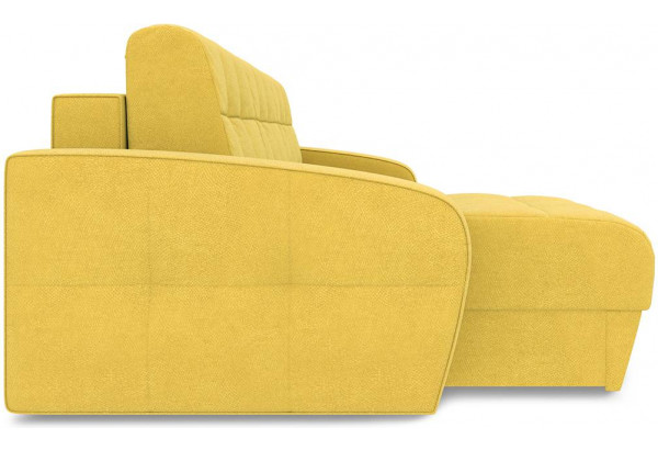 Диван угловой левый «Аспен Slim Т1» (Maserati 11 (велюр) желтый) - фото 4