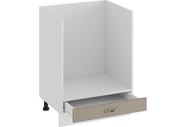 Шкаф напольный под бытовую технику «Бьянка» (Белый/Дуб кофе) - фото 2