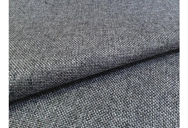 Прямой диван Сатурн Серый/черный (Рогожка/Экокожа) - фото 8