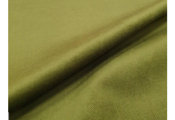 П-образный диван Милфорд Зеленый/Бежевый (Микровельвет) - фото 7