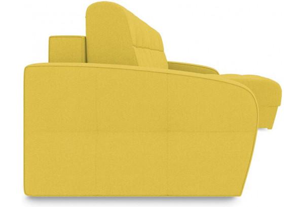 Диван угловой правый «Аспен Т1» (Neo 08 (рогожка) желтый) - фото 3