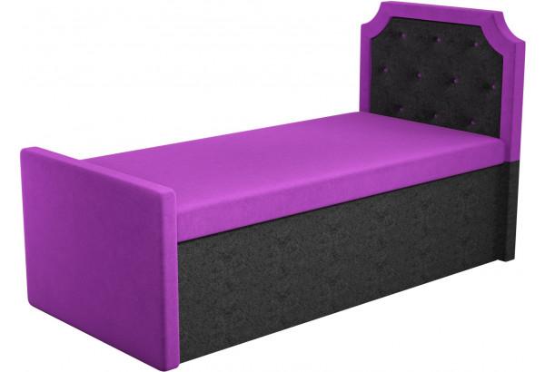 Кушетка Севилья Фиолетовый/Черный (Микровельвет) - фото 1