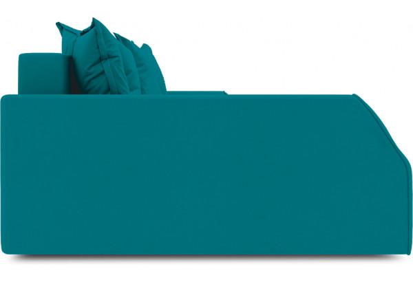 Диван угловой левый «Люксор Slim Т2» (Beauty 06 (велюр) изумрудный) - фото 5