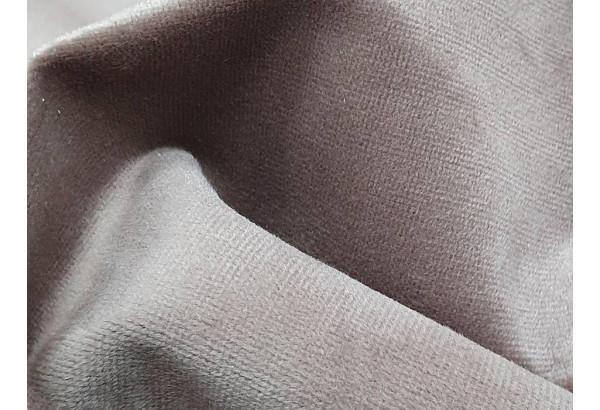 Кухонный угловой диван Лотос Коричневый/Бежевый (Велюр) - фото 6