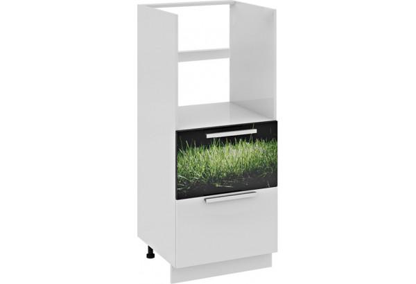 Шкаф комбинированный под бытовую технику с 2-мя ящиками ФЭНТЕЗИ (Грасс) - фото 2