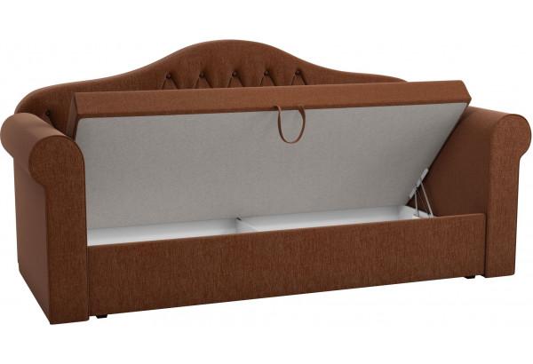 Детская кровать Делюкс Коричневый (Рогожка) - фото 2
