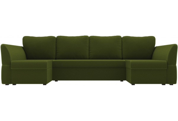 П-образный диван Гесен Зеленый (Микровельвет) - фото 2