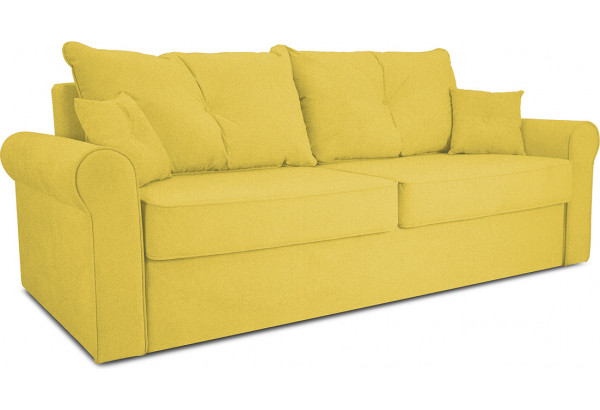 Диван «Синди» Neo 08 (рогожка) желтый - фото 1