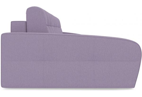Диван угловой левый «Аспен Slim Т2» (Neo 09 (рогожка) фиолетовый) - фото 4