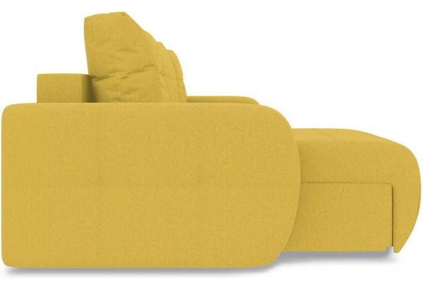 Диван угловой левый «Томас Т1» (Neo 08 (рогожка) желтый) - фото 5