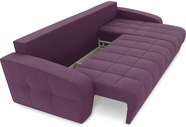 Диван угловой правый «Аспен Т1» (Kolibri Violet (велюр) фиолетовый) - фото 6