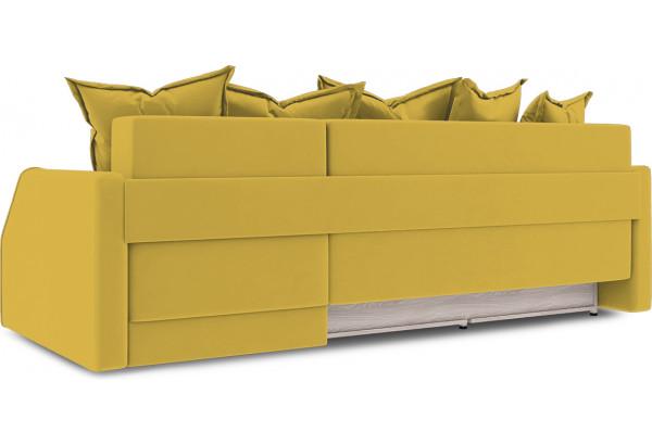 Диван угловой правый «Люксор Slim Т1» (Poseidon Curcuma (иск.замша) желтый) - фото 4