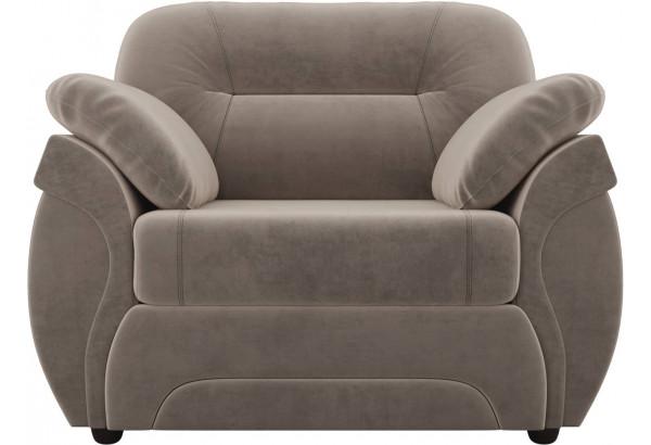 Кресло Бруклин Коричневый (Велюр) - фото 2