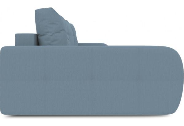 Диван угловой левый «Томас Slim Т2» (Poseidon Ocean (иск.замша) серо-голубой) - фото 5