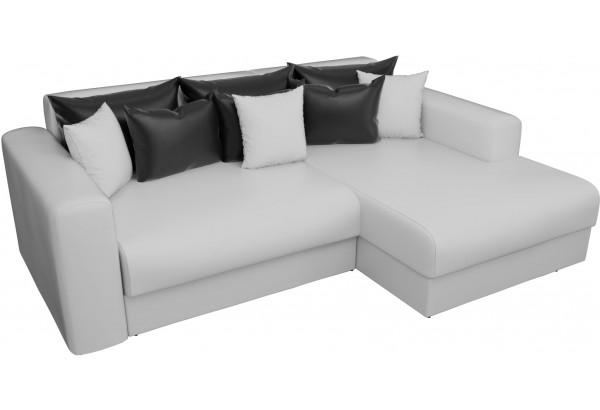 Угловой диван Мэдисон Белый (Экокожа) - фото 2