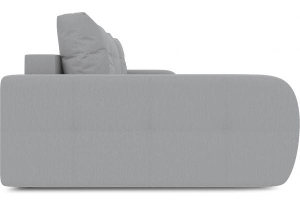 Диван угловой левый «Томас Slim Т2» (Poseidon Grey (иск.замша) серый) - фото 5