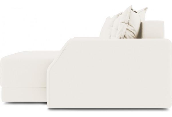 Диван угловой правый «Люксор Slim Т1» Beauty 02 (велюр) капучино - фото 5