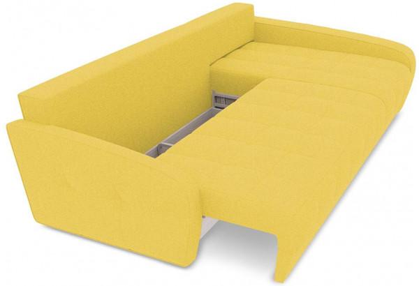 Диван угловой правый «Аспен Slim Т2» (Neo 08 (рогожка) желтый) - фото 6