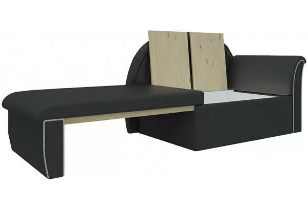 Кушетка Кипр-1 (Черный) Черный (Экокожа) - фото 3