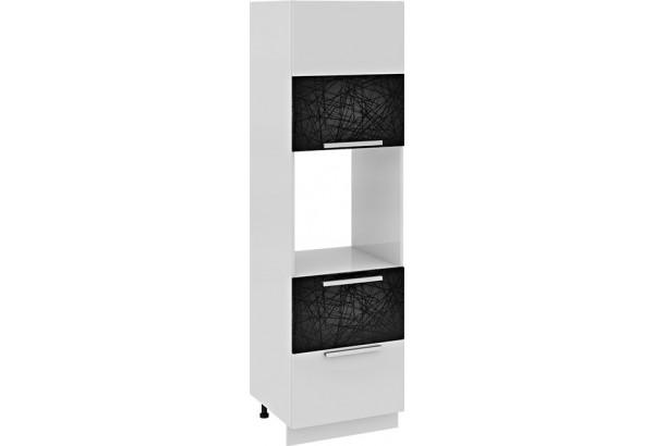 Шкаф пенал под бытовую технику с 2-мя ящиками (левый) Фэнтези (Лайнс) - фото 2