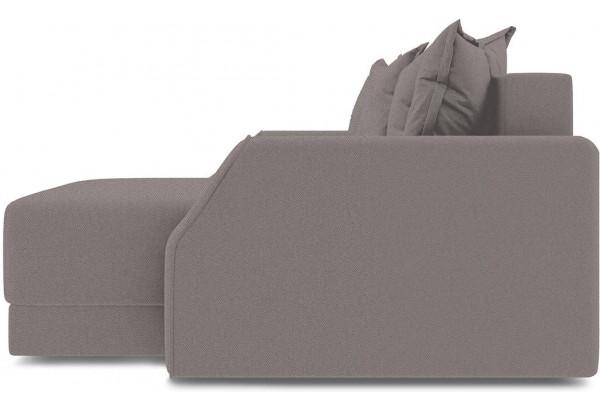 Диван угловой правый «Люксор Slim Т1» (Neo 12 (рогожка) коричневый) - фото 5