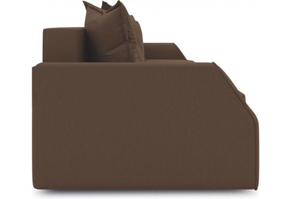 Диван «Люксор Slim» Beauty 04 (велюр) коричневый - фото 4