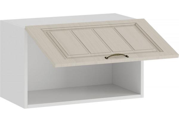 Шкаф навесной c одной откидной дверью «Лина» (Белый/Крем) - фото 2