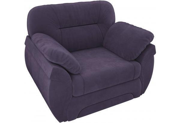 Кресло Бруклин Фиолетовый (Велюр) - фото 4