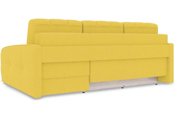 Диван угловой правый «Аспен Slim Т2» (Neo 08 (рогожка) желтый) - фото 5