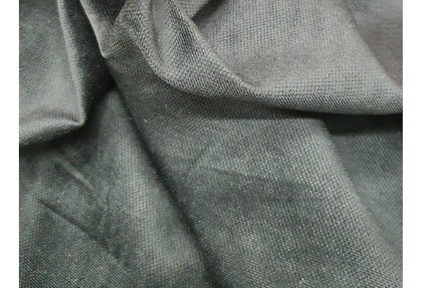 Кухонный прямой диван Люксор черный/фиолетовый (Микровельвет) - фото 4