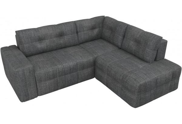 Угловой диван Леос Серый (Рогожка) - фото 4