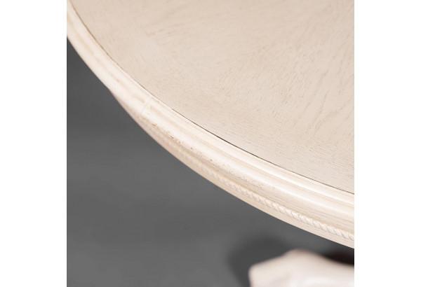"""Стол круглый раскладной """"Rochester"""" - STC - (4260-STC) Слоновая кость - фото 6"""