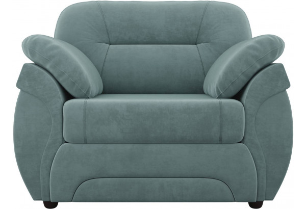 Кресло Бруклин бирюзовый (Велюр) - фото 2
