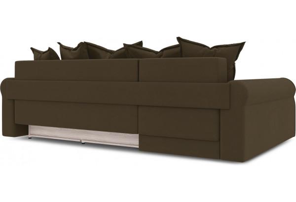 Диван угловой левый «Люксор Т2» Beauty 04 (велюр) коричневый - фото 5