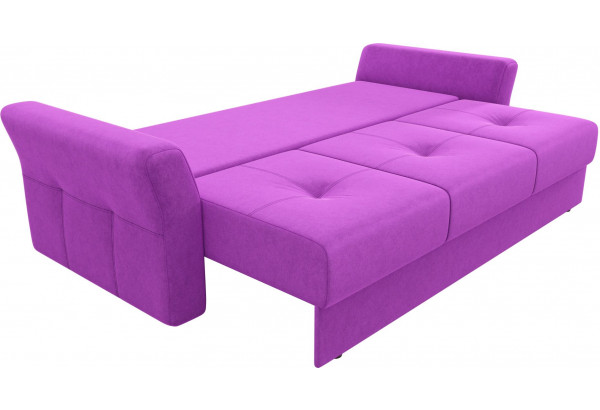 Диван прямой Манхеттен Фиолетовый (Микровельвет) - фото 7
