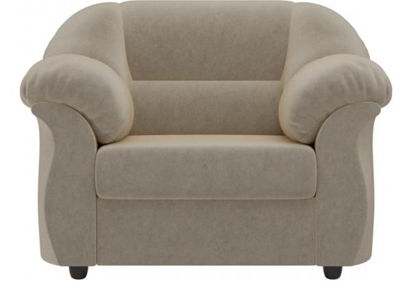 Кресло Карнелла Бежевый (Микровельвет) - фото 2