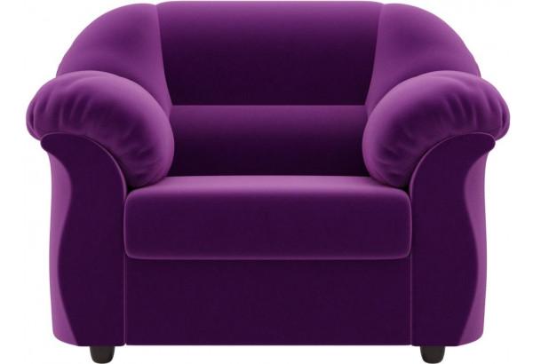 Кресло Карнелла Фиолетовый (Микровельвет) - фото 2