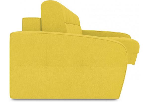 Диван угловой правый «Аспен Т2» (Neo 08 (рогожка) желтый) - фото 3