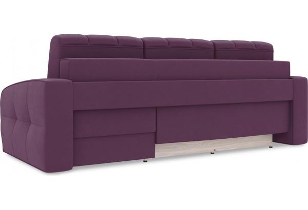 Диван угловой правый «Аспен Т1» (Kolibri Violet (велюр) фиолетовый) - фото 4