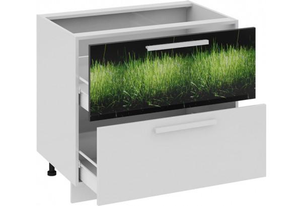 Шкаф напольный с 2-мя ящиками ФЭНТЕЗИ (Грасс) - фото 1