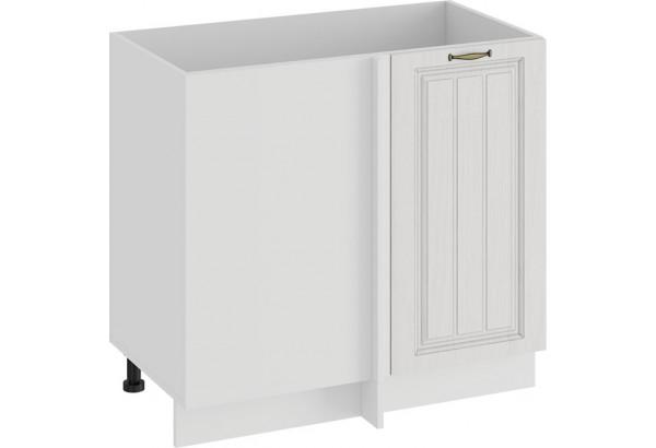 Шкаф напольный угловой «Лина» (Белый/Белый) - фото 1