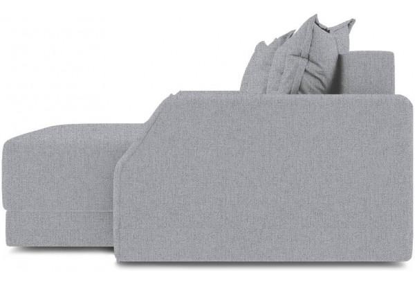 Диван угловой правый «Люксор Slim Т1» (Levis 85 (рогожка) Темно-серый) - фото 5