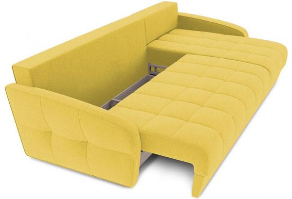 Диван угловой правый «Аспен Slim Т1» (Neo 08 (рогожка) желтый) - фото 6