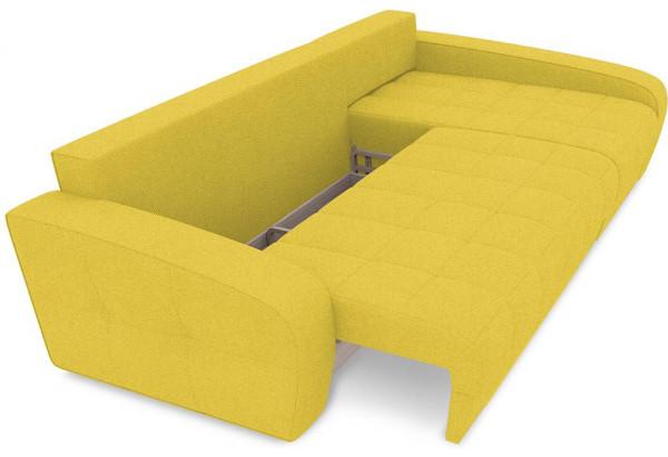 Диван угловой правый «Аспен Т2» (Neo 08 (рогожка) желтый) - фото 6