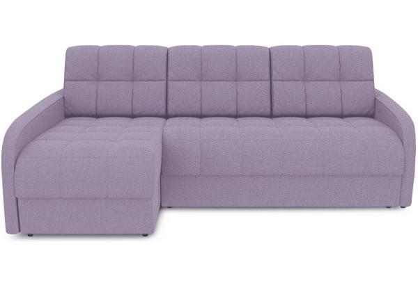 Диван угловой левый «Аспен Slim Т2» (Neo 09 (рогожка) фиолетовый) - фото 2
